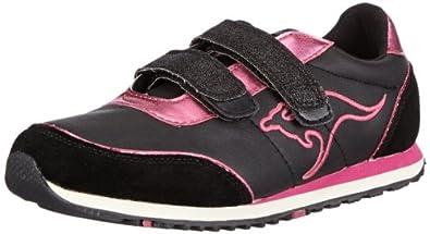KangaROOS Changed Becky II 1270B, Mädchen Sneaker, Schwarz (black/berry), EU 34