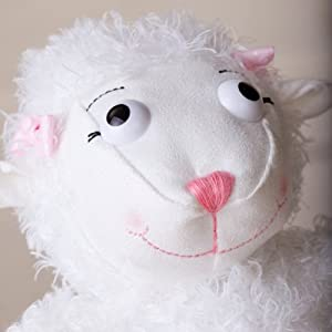 Really Woolly Plush Gracie Lamb with Online Event Code - Christian Gift