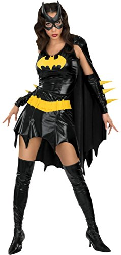 Rubies Womens Batgirl Dc Comics Theme Party Fancy Dress Halloween Sexy Costume