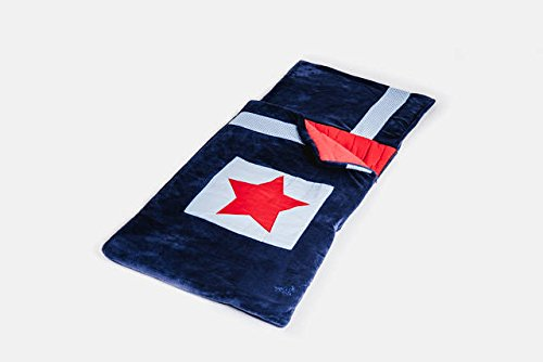Snuggle Sac My First Navy Star - Saco de dormir infantil, color azul y rojo