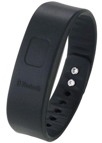 プリンストンテクノロジー Bluetooth対応ブレスレット型バイブレーター ぶるっトゥース ブラック PTM-ICNBK