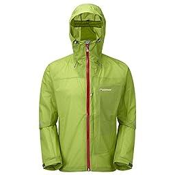 Montane Minimus Waterproof Outdoor Jacket - Large - Green