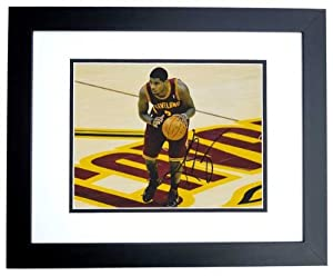 Kyrie Irving Autographed Hand Signed Cleveland Cavaliers 8x10 Photo - BLACK CUSTOM... by Real+Deal+Memorabilia