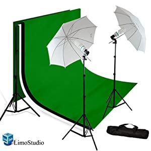 Amazon.com : LimoStudio PHOTOGRAPHY STUDIO LIGHTING KIT White ...