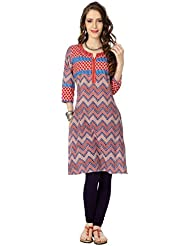 Rangmanch By Pantaloons Women's Cotton Straight Kurta