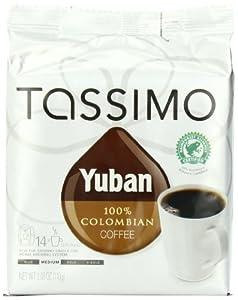 Tassimo Yuban 100% Colombian Coffee, 84 T-Discs