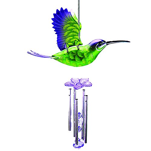 Exhart 40209 Large Hummingbird Wind Chime (Discontinued by Manufacturer)