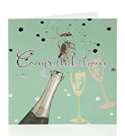 Champagne Congratulations Greetings Card