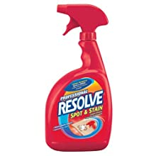 Professional Resolve Spot & Stain Carpet Cleaner, 32 Ounces (Case of 12)
