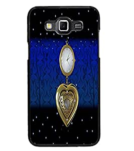 PrintDhaba Antique Watch D-4260 Back Case Cover for SAMSUNG GALAXY GRAND MAX (Multi-Coloured)