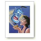 ディズニーポスター アラジンと魔法のランプ