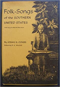 Book cover for Folk-songs of the Southern United States