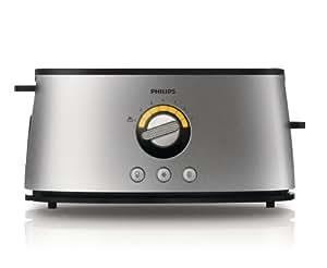 Philips HD2698/00 Toaster (7 Bräunungsstufen, Auftauen, Rösten, Aufwärmen)