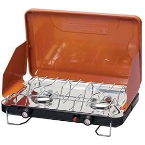 Amazon.com : Portable Camping Deluxe 2 Burner Propane