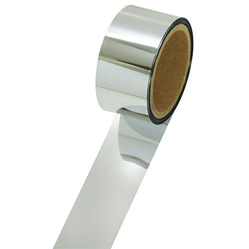 タカ印 メッキテープ パーソナルタイプ40-4494 銀 1個