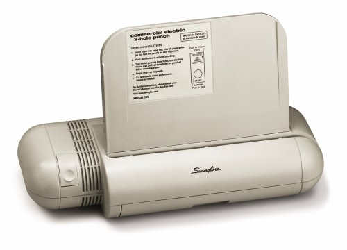 Swingline Commercial 3 Hole Electric Paper Punch (A7074535A)
