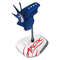 ARCTIC Breeze USB Desktop Fan with Flexible Neck and Adjustable Fan Speed, Gooseneck Fan, USA Design in Red, White and Blue