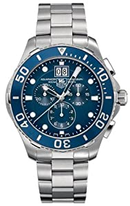 TAG Heuer Men's CAN1011BA0821 Aquaracer Blue Dial Watch