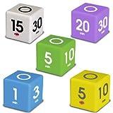 5 Piece Cube Timer Set