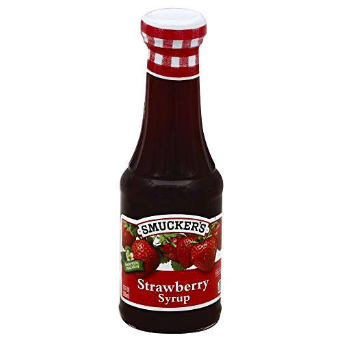 Smucker's Real Fruit Strawberry Syrup - 12 oz