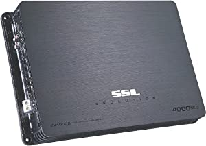 SSL EV4000D EVOLUTION 4000-Watt Class D Monoblock Amplifier with Remote Subwoofer Level Control by Sound Storm Laboratories