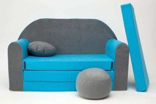 Sof cama infantil reposabrazos reposapies y almohada - Cama divan infantil ...