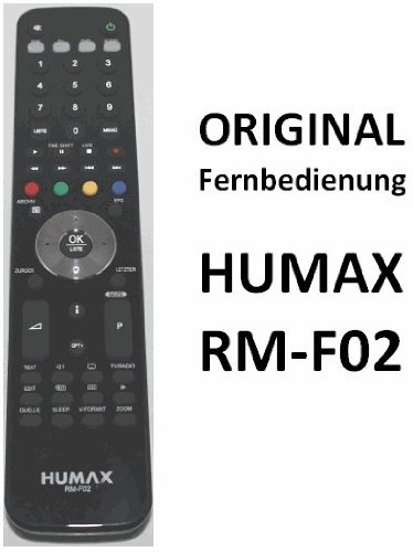 Original Humax Fernbedienung RM-F02