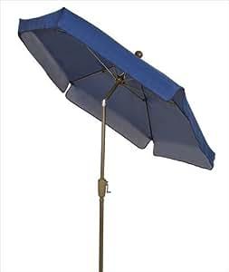 Fiberbuilt Home 7gcrcb T Navy Blu Garden Umbrella 7 5 Ft Navy Blue Patio