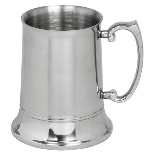 Personalised 3/4 Pint Stainless Steel Tankard FREE ENGRAVING