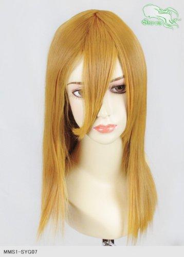 スキップウィッグ 魅せる シャープ 小顔に特化したコスプレアレンジウィッグ フェアリーミディ マスタード