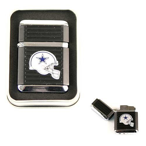 NFL Flip Top Butane Torch Lighter in Tin Collectors Box (Dallas Cowboys) at Amazon.com
