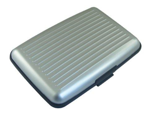 MULTI CREDIT CARD CASE BY DESIGNSK (Silver)