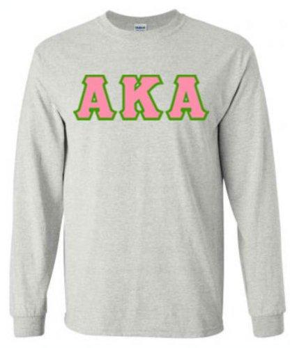 Alpha Kappa Alpha Sewn Long Sleeve T-shirts