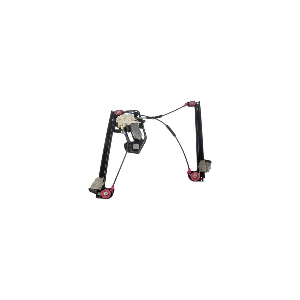 Dorman 741 482 Front Driver Side Replacement Power Window Regulator with Motor for BMW 7 Series Automotive