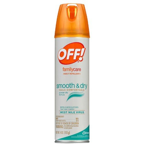 Off Family Care Smooth Dry Insect Repellant Spray
