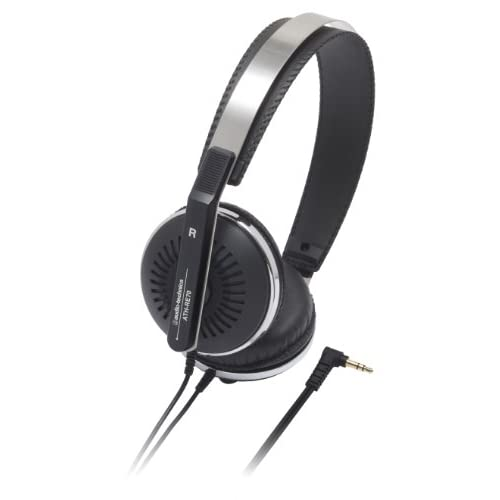 ヘッドホン おしゃれ audio-technica ATH-RE70 blackをおすすめ
