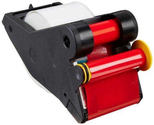 "Brady Labelizerplus And Versaprinter Tape Cartridge B- 595 Indoor/Outdoor Vinyl Film Size: 2.25"" X 90' Red/Wht 1Pk"