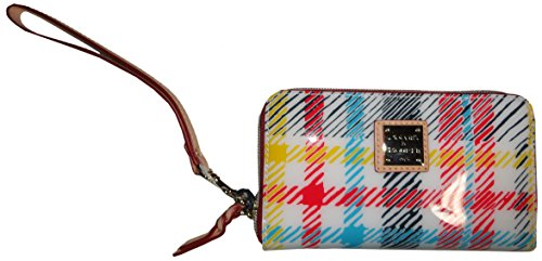 womens-dooney-bourke-wristlet-wallet-white-multi