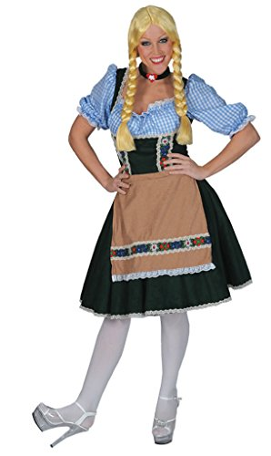 Funny Fashions Womens Fancy Historic Salzberg Dress With Shirt Halloween Costume