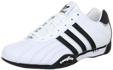 adidas Originals ADI RACER LOW G16080 Herren Sneaker, Weiss (WHITE / BLACK 1 / METALLIC SILVER), 44