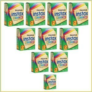 Fujifilm 20-INS200KIT Instax Wide Film 200 Image Kit