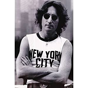 John Lennon (New York City) Music Poster Print - 24x36