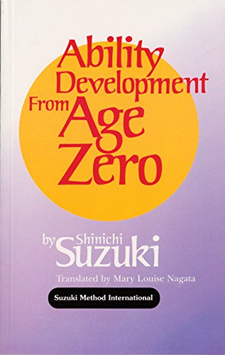 Ability Development From Age Zero (Suzuki Method International S) front-961075