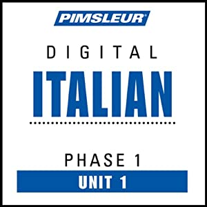 Italian Phase 1, Unit 01: Learn to Speak and Understand Italian with Pimsleur Language Programs | [Pimsleur]