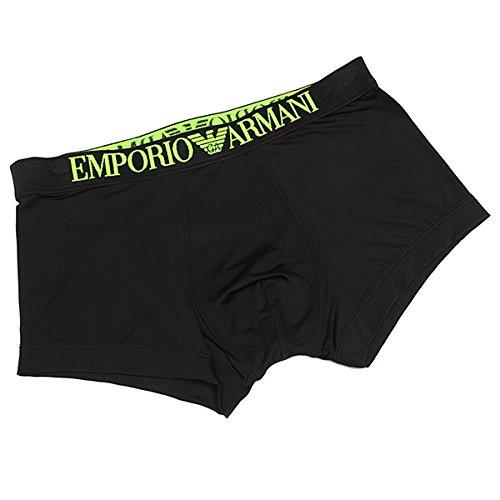 (エンポリオアルマーニ) EMPORIO ARMANI エンポリオアルマーニ ボクサーパンツ メンズ EMPORIO ARMANI 111389 4P547 00020 アンダーウェア BLACK[並行輸入品]