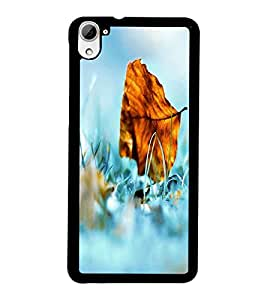 PrintDhaba Leaf D-2401 Back Case Cover for HTC DESIRE 826 (Multi-Coloured)