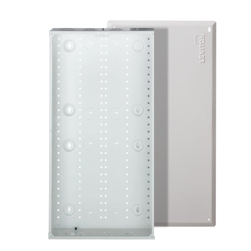 Leviton 47605-28W Series 280M Structured Media Center with Cover (Media Panel With Cover compare prices)