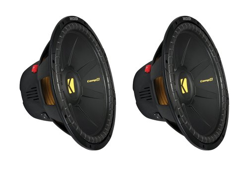 "2)New Kicker Compd 40Cwd122 12"" 1200W Car Subwoofers Power Subs Dvc 2 Ohm Cwd122"