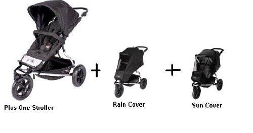 Ted Universal Sun /& Storm Covers Baby Car Seats Black Mountain Buggy Phil