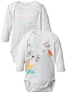 Absorba HAPPY PANDA-Body Bebé-Niños^Bebé-Niñas,
